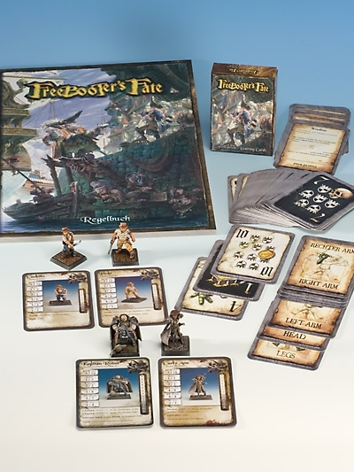 Starterset mit Piraten Starterbox, Buch und Spielkarten