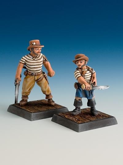 Pirat und Cuchillo