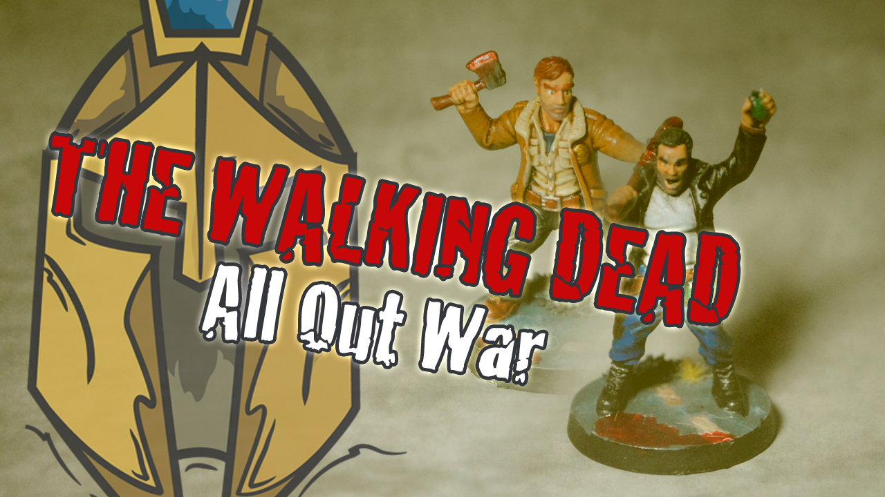 Walking Dead: All Out War – BatRep 01 1/3 – Team Shane vs Team Rick
