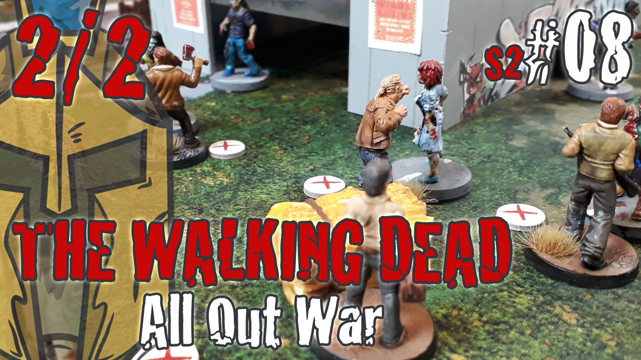 The Walking Dead All Out War – BatRep German – #5: The Barn – Teil2 – Miles Behind us