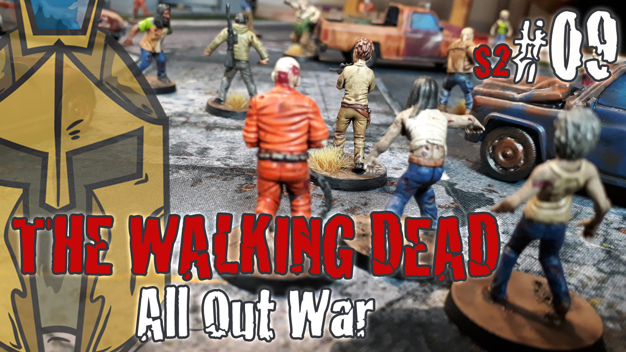 The Walking Dead All Out War – BatRep German – #6: Supply Raid – Miles Behind us