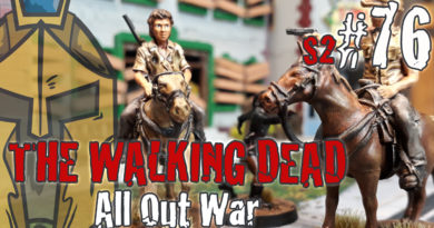 The Walking Dead All Out War – BatRep German – Fear The Hunters – #1 Return to the Farm