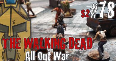 #78 – The Walking Dead All Out War – BatRep German – Fear The Hunters – #1 Emergency Supply Run