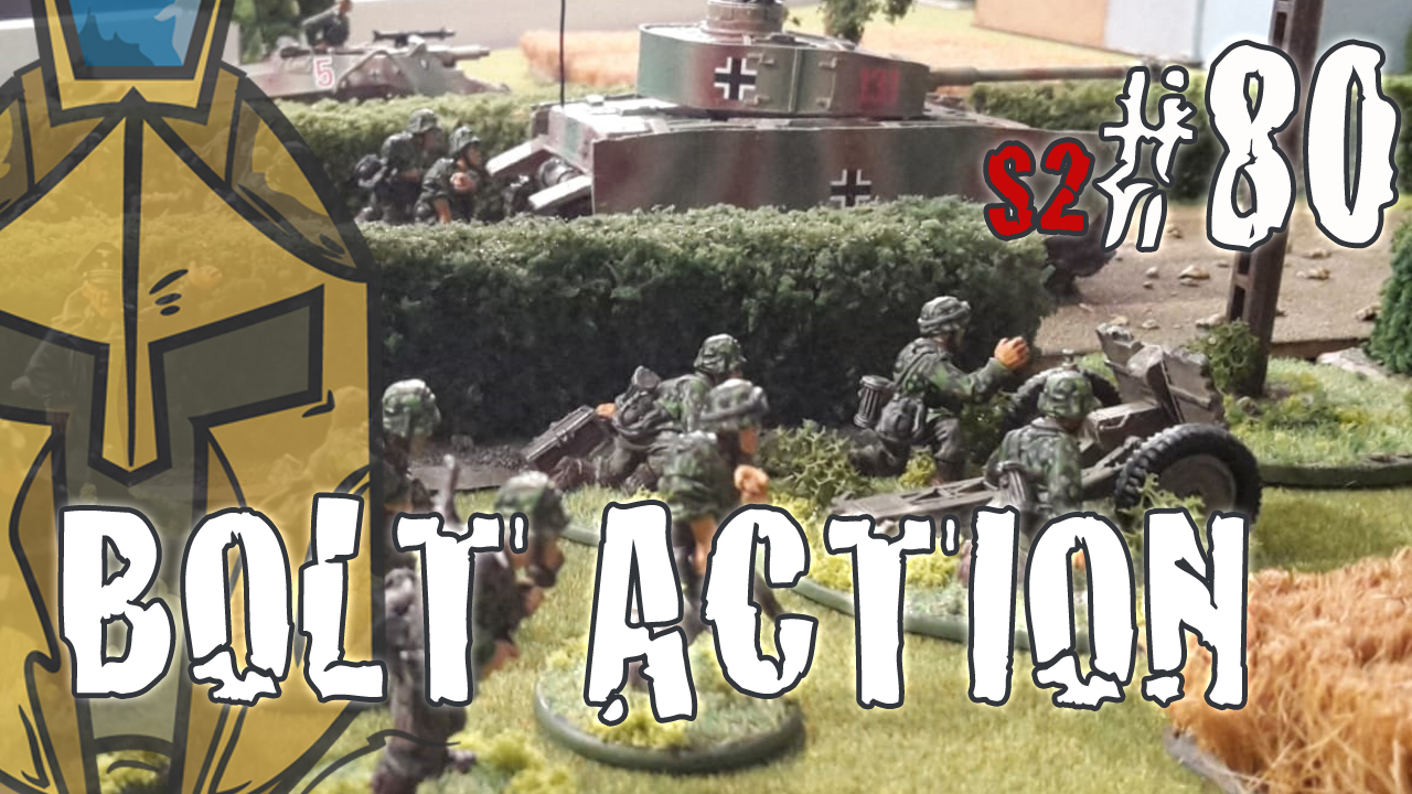 "Bolt Action – BatRep German – Deutsche vs. Amerikaner ""No Mans Land"""