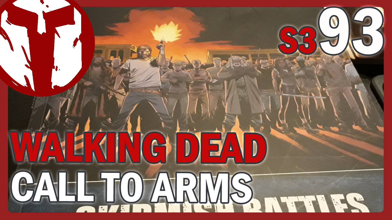 The Walking Dead Call to Arms – Unboxing & First Look Survivor Bundle