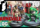 #100 – Carnevale Vlog – bemalte Rashaar und Guild Starter, Brücken und neue Miniaturen