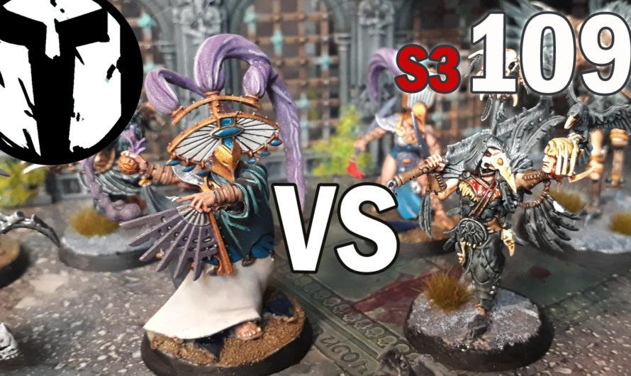 Warhammer Warcry Kampagne 1– Cypherlords vs Corvus Cabal