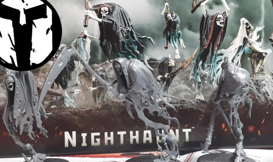 VLOG Warhammer Warcry Unboxing der Nighthaunts, Geschwafel und Zusammenbau