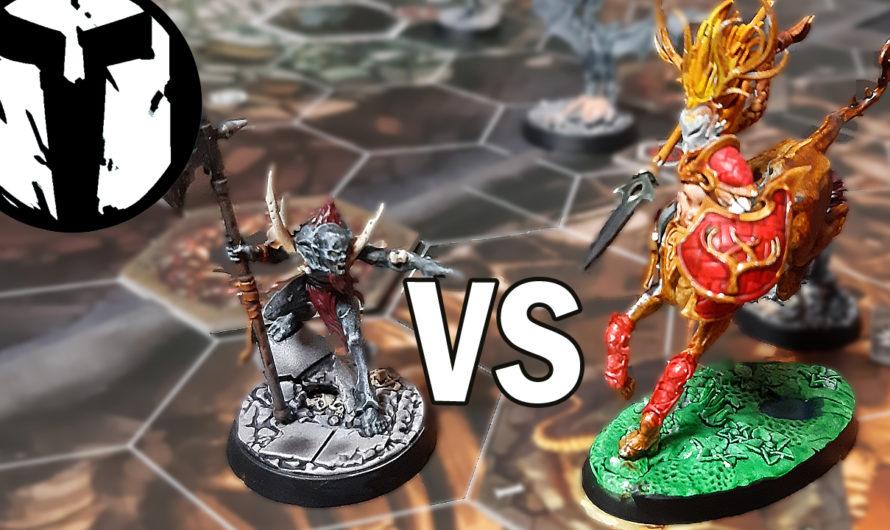 Warhammer Underworlds – Skaeths Wilde Jagd vs Die Grimwacht (Vater vs Sohn)