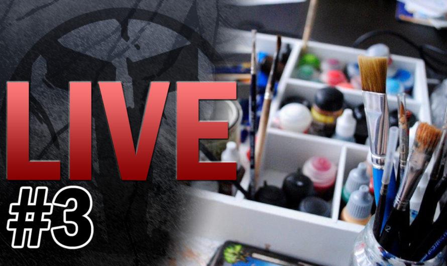 TablePott TV LIVE #3 – LIVE MALEN – Warhammer 40k, Age of Sigmar u.v.m