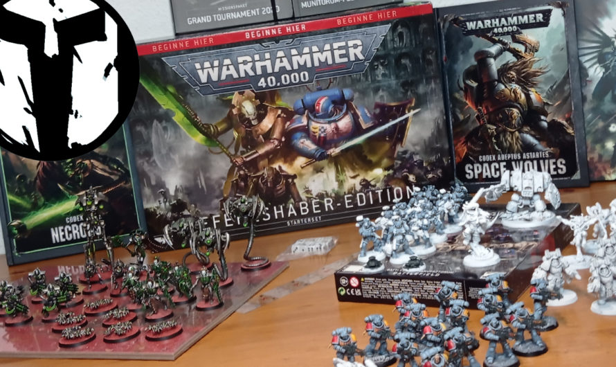 TablePott Warlords – Warhammer 40k 9. Edition – Befehlshaber Starterbox Unboxing & Projekte