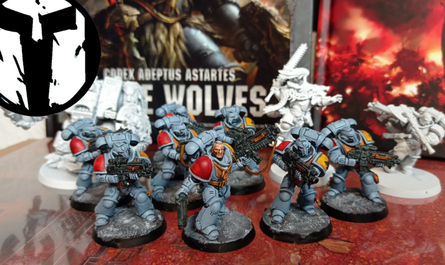 TablePott Warlords – Warhammer 40k 9. Edition – Space Wolves Armeeprojekt