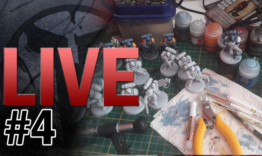 TablePott TV LIVE #4 – LIVE MALEN – aktuelle Projekte, Unser Youtube Kanal, OTPT, TableTop Releases,…
