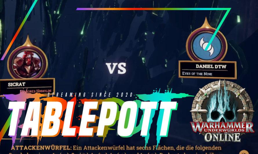 Warhammer Underworlds Online – Magores vs Eyes of the Nine (Daniels TableTopWelt) Best-of-3