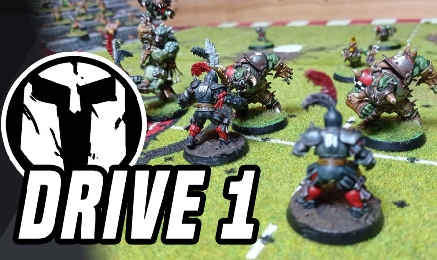 BLOOD BOWL – BatRep – Orcland Raiders vs Bogenhafen Barons – DRIVE 1