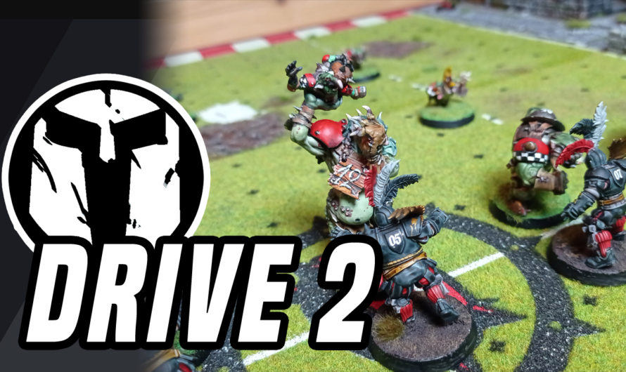 BLOOD BOWL – BatRep – Orcland Raiders vs Bogenhafen Barons – DRIVE 2